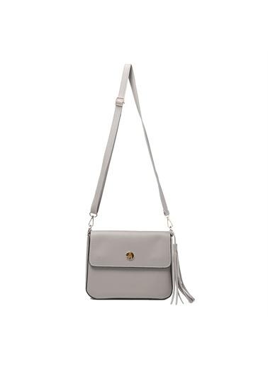 TH Bags   Kadın Çapraz Çanta Th059900  Gri